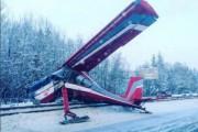 СК начал проверку после посадки самолета на Ярославское шоссе