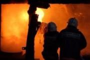 В Волгограде дотла сгорел жилой дом из 16 квартир