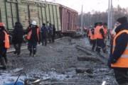 Движение поездов в Забайкалье полностью восстановлено