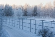 В Заполярье беженцев на границе с Финляндией предупреждают о морозах