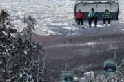 На Сахалине сорвалась кабинка с канатной дороги горнолыжного комплекса